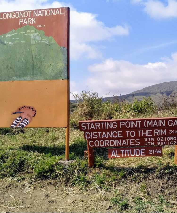 Hiking Adventure in Mount Longonot